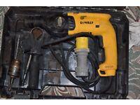 DeWalt 110v Corded 3-Mode SDS Rotary Hammer Drill.