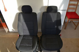 BMW E46 320 3 Series Front & Back seats
