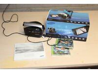 Samsung VP-DX100 34X optical zoom mini DVD digital camcorder