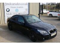 LATE 2006 BMW 535D M SPORT AUTO 269BHP SALOON ( FINANCE & WARRANTY AVAILABLE)