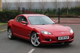 Mazda RX-8,2008/231ps/12MOT/Full history/full serv/6speeds/No issues/Delivery
