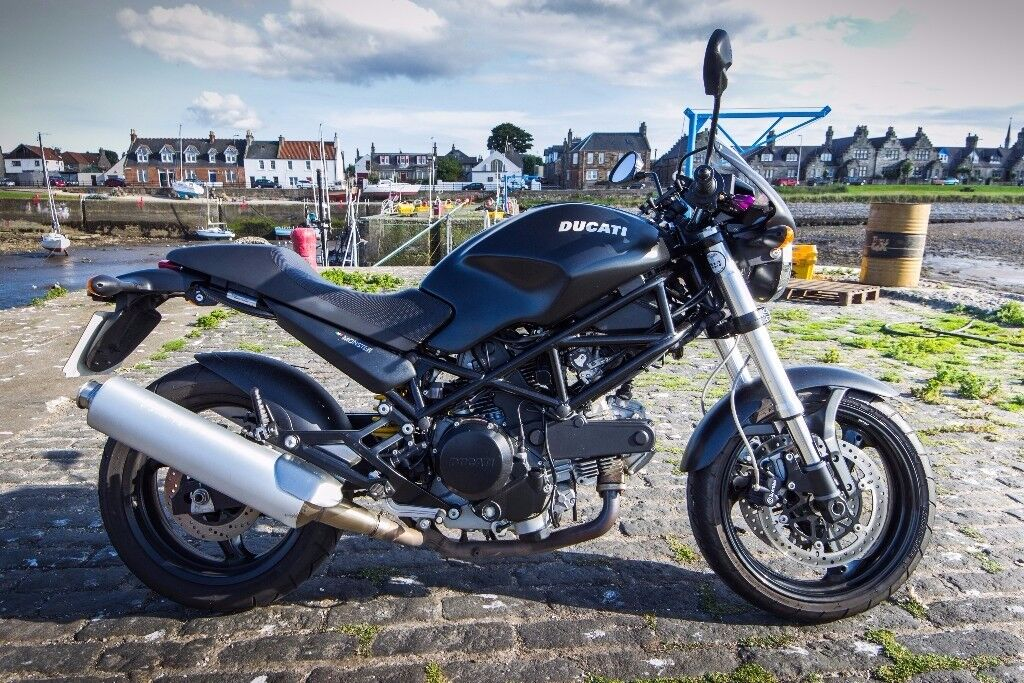 ducati monster 695 dark immaculate condition 5k miles. Black Bedroom Furniture Sets. Home Design Ideas