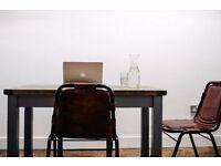 24/7 Co Work / Desk Space / Cheap & Flexible at Broadway Market - £19 per day