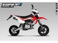 KURZ RT1 125 - Pit Bike - Learner Suitable - Pitbike - Road Legal - Motorcycle