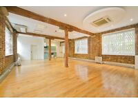 Outstanding warehouse conversion located in the heart of Chalk Farm. Available now!!