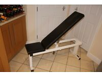 Watson Gym utility bench / weights bench / dumbell bench - great for dumbbells or power rack