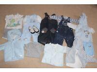 baby boy 3-6 mth clothing bundle