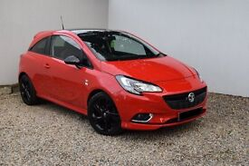 15 reg corsa limited edition 1.4cc in blood red, new shape, only 3,000 miles , fsh - mint condition