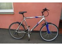 Gents Mountain Bike Large 22 Inch 53.5 cm Frame Disc Brake Brand New Chain Can Deliver If Local