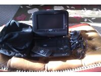 Portable DVD Player With Case