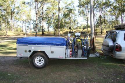 Camper Trailer 4x4 Offroad heavy duty - Great Condition