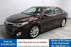 2013 Toyota Avalon XLE! NAVIGATION! LEATHER! SUNROOF! REAR CAMER