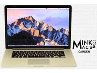 15' APPLE RETINA MACBOOK PRO 2.3Ghz i7 Quad 8GB 250GB SSD Minko's WARRANTY Best Condition Charger