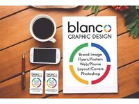 Graphic Designer: Brand image, Leaflets, Signals, Web and phone, Photo retouching.
