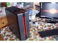 HP OMEN Gaming PC, Core i5-6400, 8GB RAM, GTX 1050Ti, 2TB HDD, Windows 10