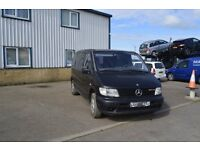 NEAT LEFT HAND DRIVE MERCEDES BENZ VITO, DRIVES VERY WELL,ENGINE&MECHANICS GREAT,BIG LOAD SPACE.CALL