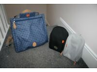 PacaPod Lewis Bag / backpack changing nappy bag , Navy CAN POST