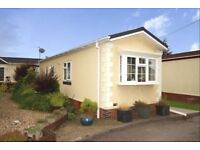 Beautiful residential 2 bed park home static caravan nr Coalville Leic