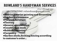 Handyman/property maintenance service