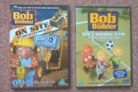 New unwatched Bob the Builder DVD's