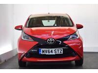 TOYOTA AYGO 1.0 VVT-I X-PLAY 5d 69 BHP (red) 2014