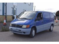 LEFT HAND DRIVE MERCEDES BENZ VITO, DRIVES WELL,ENGINE&MECHANICS GREAT,GO0D LOAD SPACE.CALL MARC