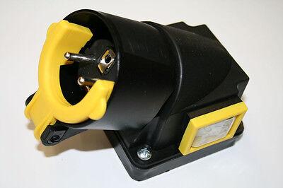 Schalter-Stecker-Kombination, 230V Einspeisung, SSK340, 8A, Betonmischer, Mörtel