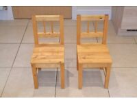 Kids Ikea chairs