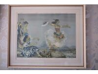 Sir William Russell Flint Danza Montana Signed Frost & Reed Edition