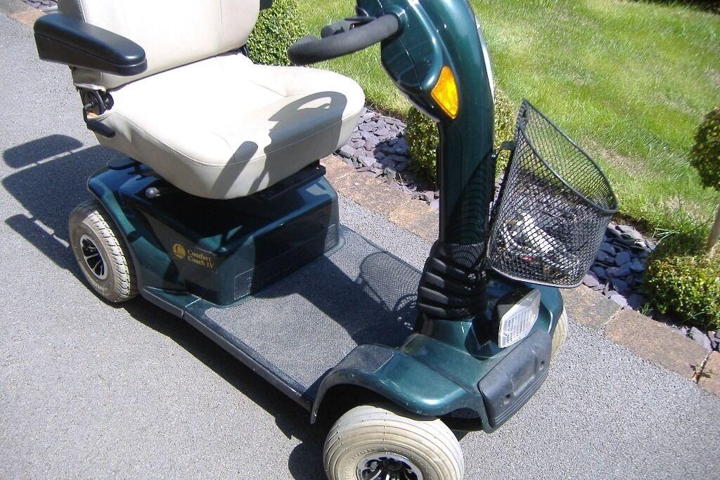 Craftmatic Comfort Coach 4 Wheel Scooter Mk 1V. Good Working Order.