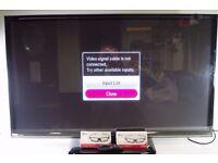 """G 50"""" 3D Smart TV with Remote & 3D Glasses, Model 50PB690V - 0306057"""