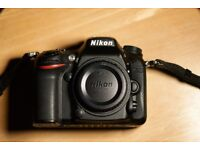 Nikon D7200 with battery grip