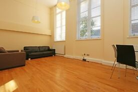 Light and spacious three bed apartment Old School conversion