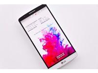 LG G3 LG-D855 16GB Smart Phone - White - Unlocked