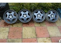 17 Inch RTR 3 Piece Split Rim Alloy Wheels