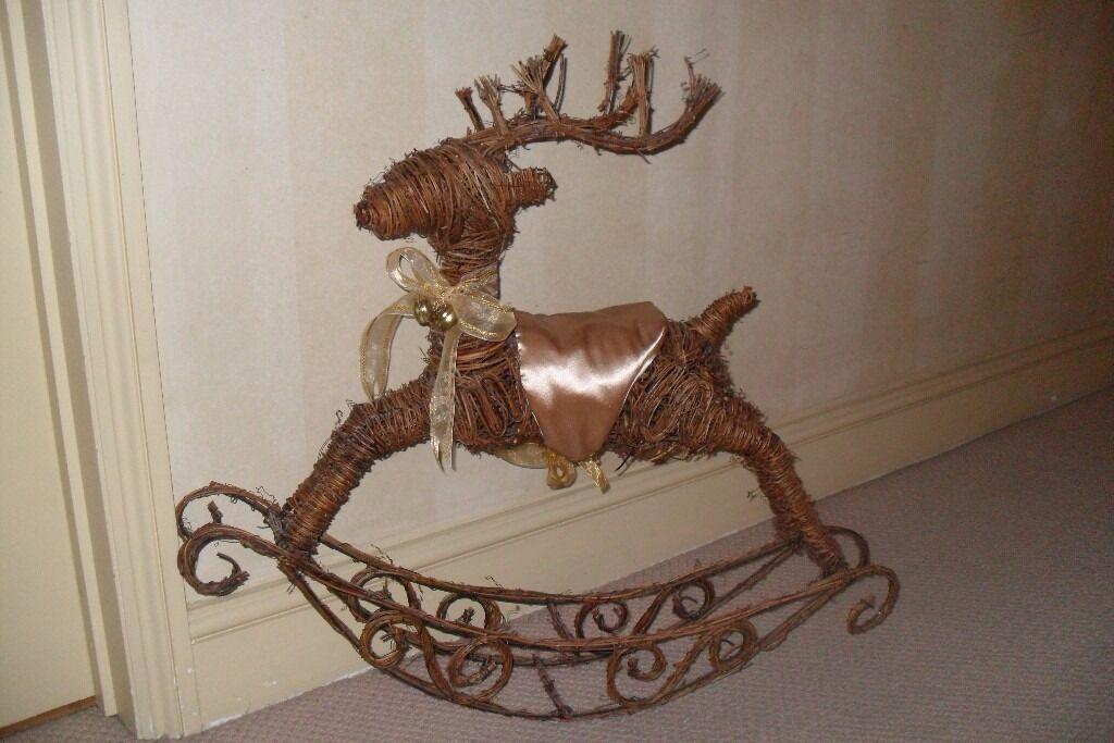 Christmas Reindeer Rocker