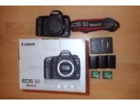 Canon EOS 5D Mark II - Superb condition - Boxed - Extra batteries - Two 32GB cards