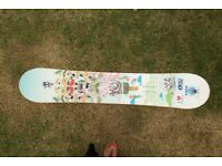 Ladies Snowboard and bindings