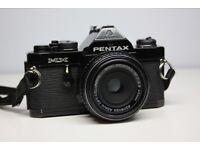 Pentax MX 35mm Manual SLR with 40mm f2.8 Pancake Lens