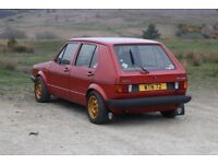 Mk1 Series 1 VW Golf GLS