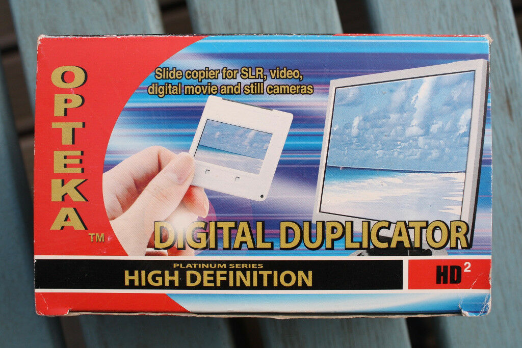 OPTEK DIGITAL DUPLICATOR/SLIDE COPIER FOR SLR, VIDEO, DIGITAL MOVIE & STILL