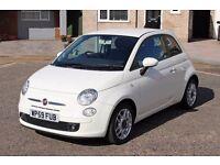2009 FIAT 500 1.3 CDTI MULTIJET DIESEL 65K MILES! MOT NO ADVISORY! FSH! LEATHER!
