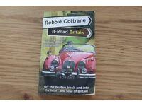 ROBBIE COLTRANE PAPERBACK BOOK B-ROAD BRITAIN.