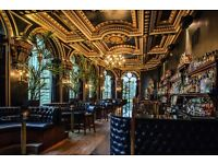 Duty Manager required for Bar/Restaurant/Multi-functional Events Space