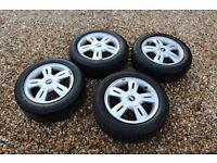 Mini wheels + Michelin tyres