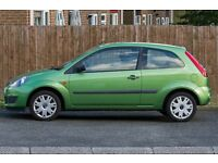 Ford Fiesta 1.2 3 door , Apple green full service history , MOT 17th-Mar 2018