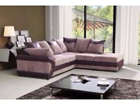 **LEFT/RIGHT HAND SIDE** BRAND NEW DINO JUMBO CORD CORNER OR 3 AND 2 SEATER SOFAS WITH FAST DELIVERY