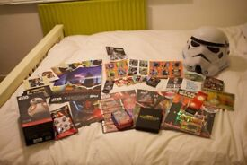 Star Wars Collectables, Memorabilia, Cards, Book and Exclusives