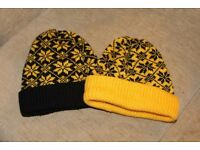 Hats Snowflake Pattern