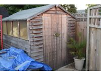 8 X 6 Apex Rood Garden Shed